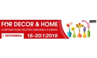 FOR DECOR & HOME 2018 - jaro Praha 9